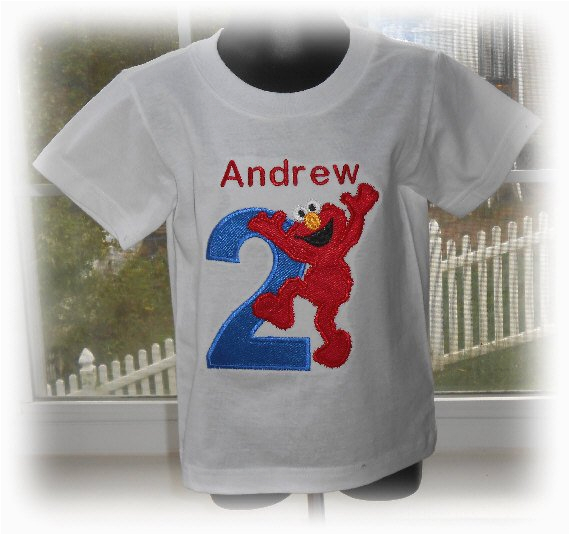 personalized boys elmo birthday number