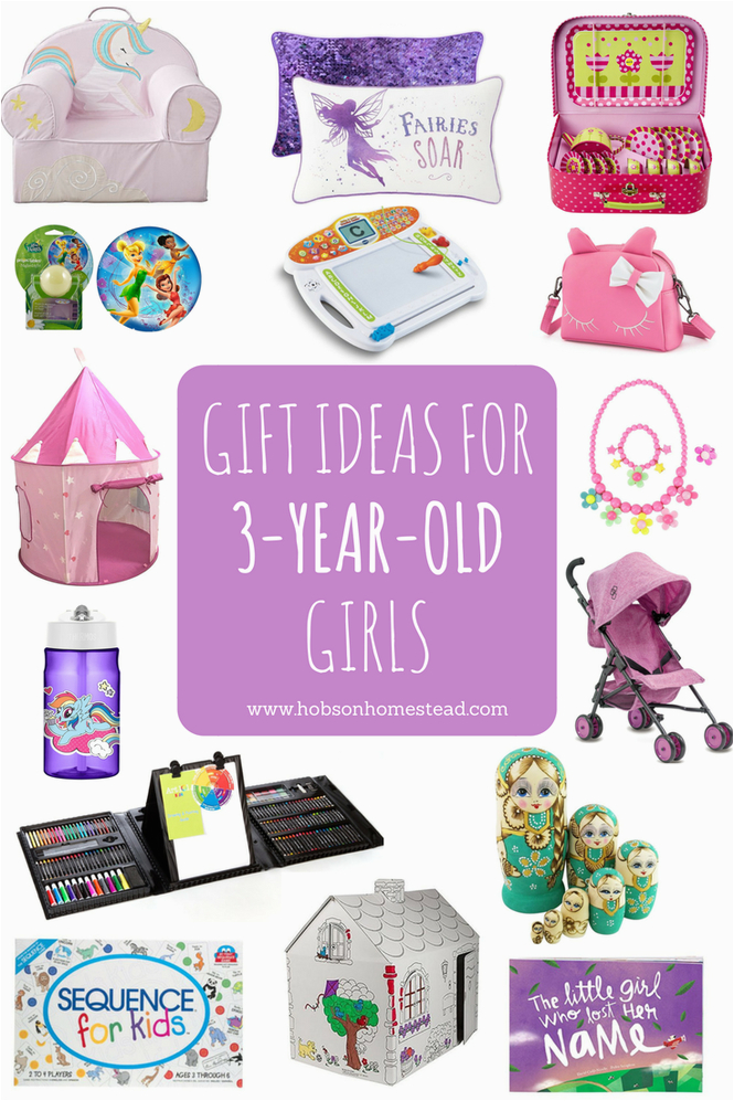 gift ideas 3 year old girls