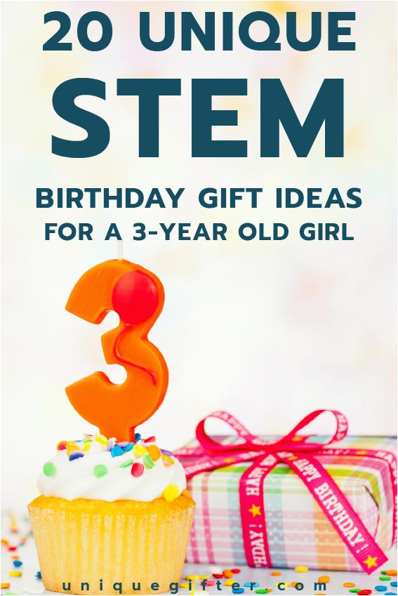 20 stem birthday gift ideas 3 year old girl
