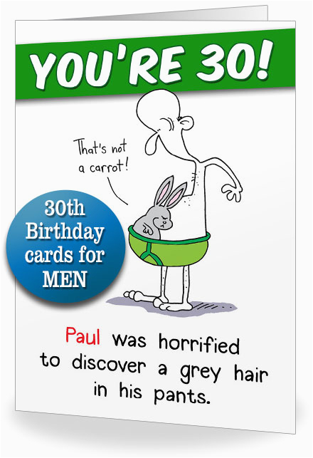 30th Birthday Card Messages Funny Cards