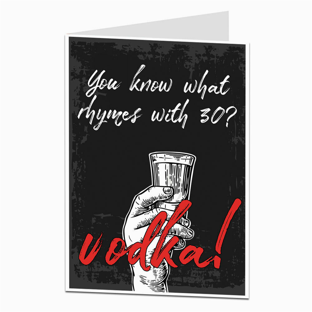 Cards Funny 30th Birthday Status Lines Sayings 162435260459