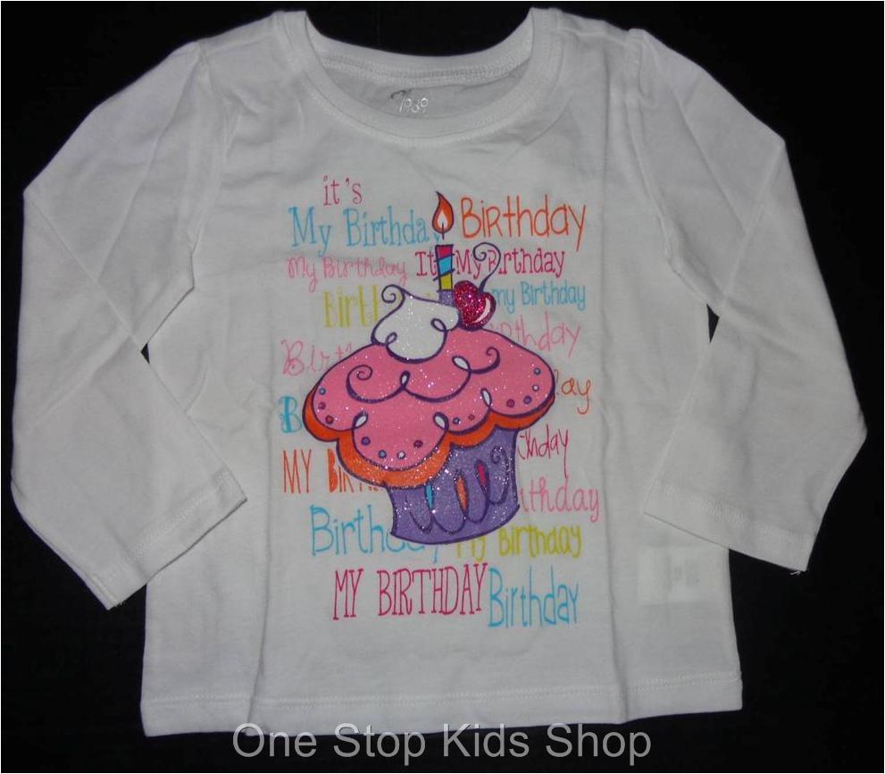 3t Birthday Girl Shirt Birthday Girl or Boy 2t 3t 4t 4 5 6 7 8 10 12 Long Sleeve