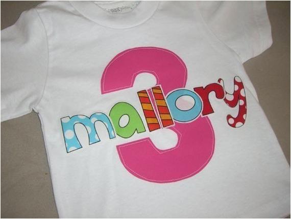 3t Birthday Girl Shirt toddler Girls 3rd Third Birthday Personalized 3 Shirt 3t 4t