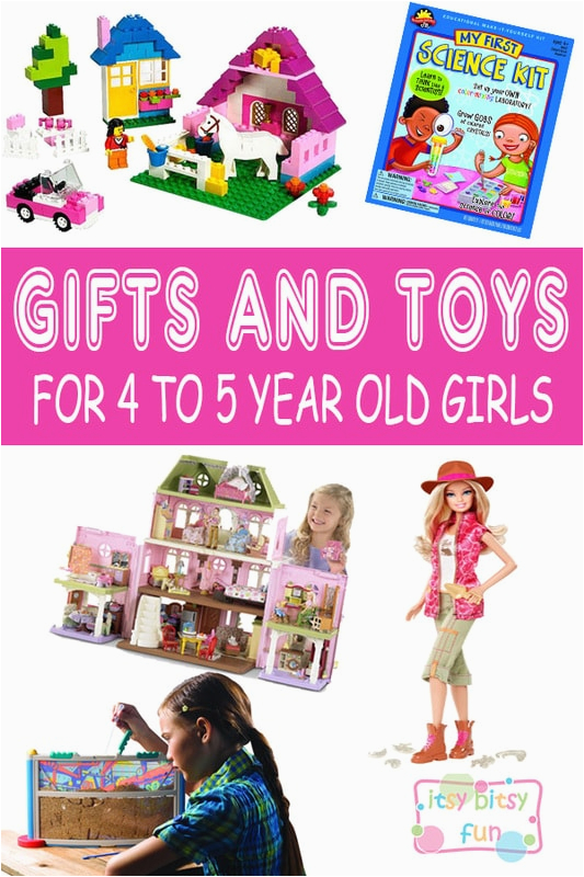 best gifts for 4 year old girl