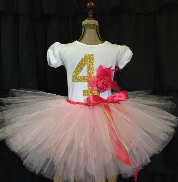 girls fourth birthday outfit 4th