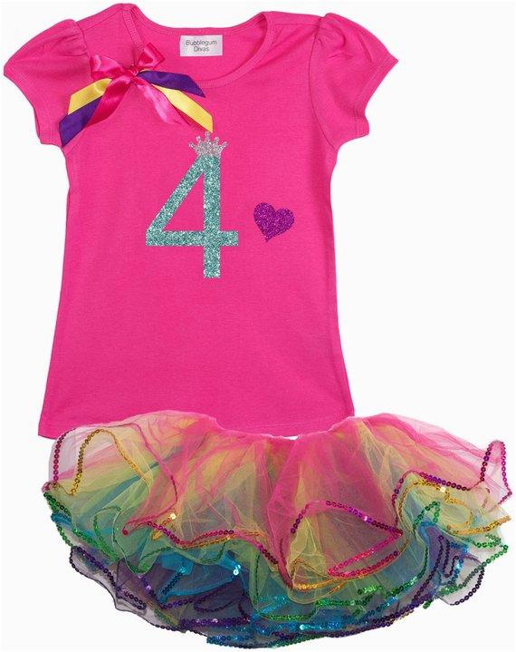 girls 4th birthday outfit 4th birthday