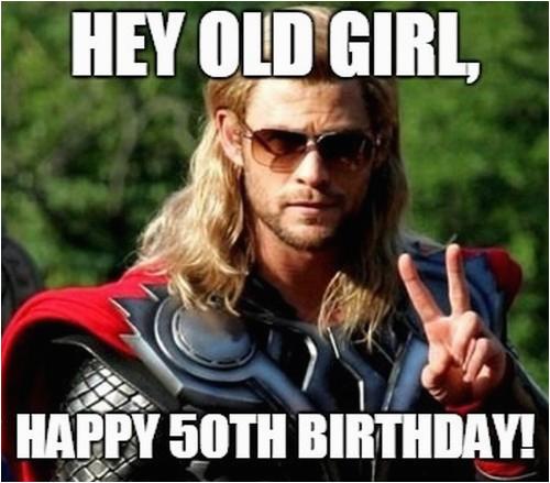 happy 50th birthday memes