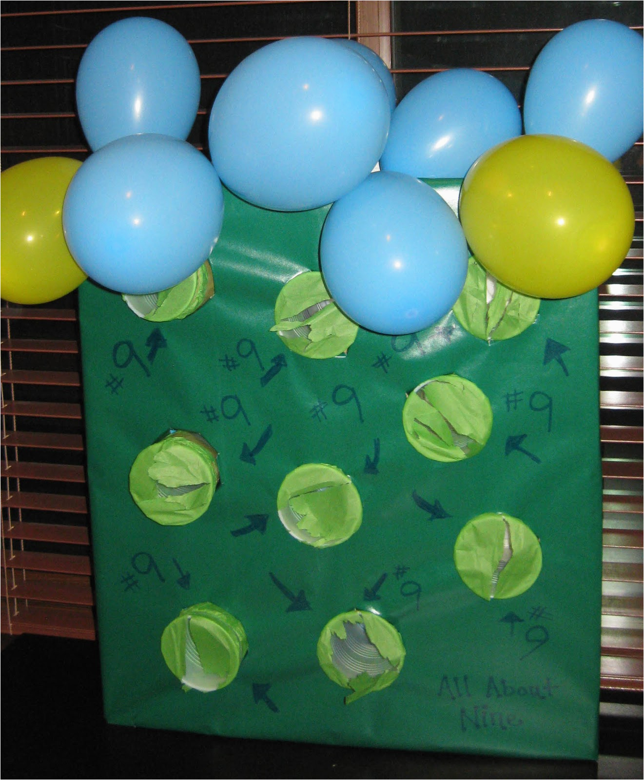 birthday party idea for nine year old