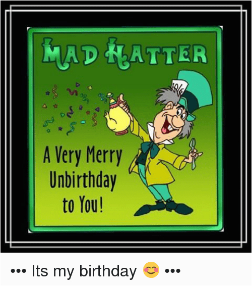 very merry unbirthday png 4588