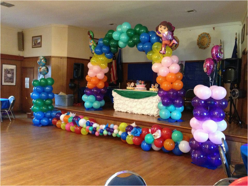 balloon decoration for party
