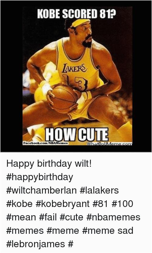 Basketball Birthday Meme | BirthdayBuzz