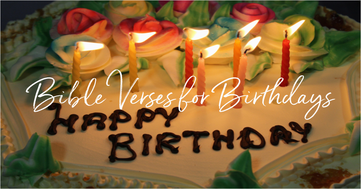 20 best bible verses for birthdays