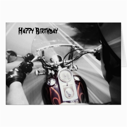 happy birthday biker images