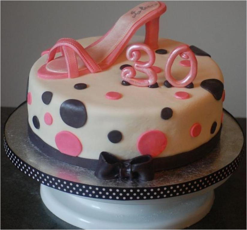 30th birthday cakes for girls