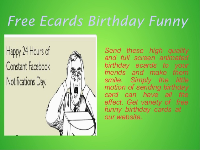 funny birthday ecards free