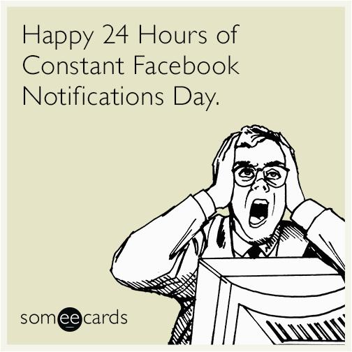 facebook notifications social network birthday funny ecard