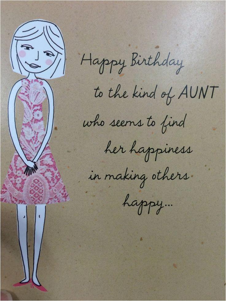 birthday aunt