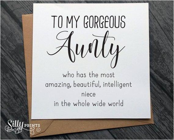 aunt auntie aunty birthday cards special