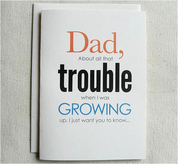 father birthday card funny dad about all