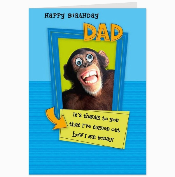 what are some funny birthday wishes for a dad