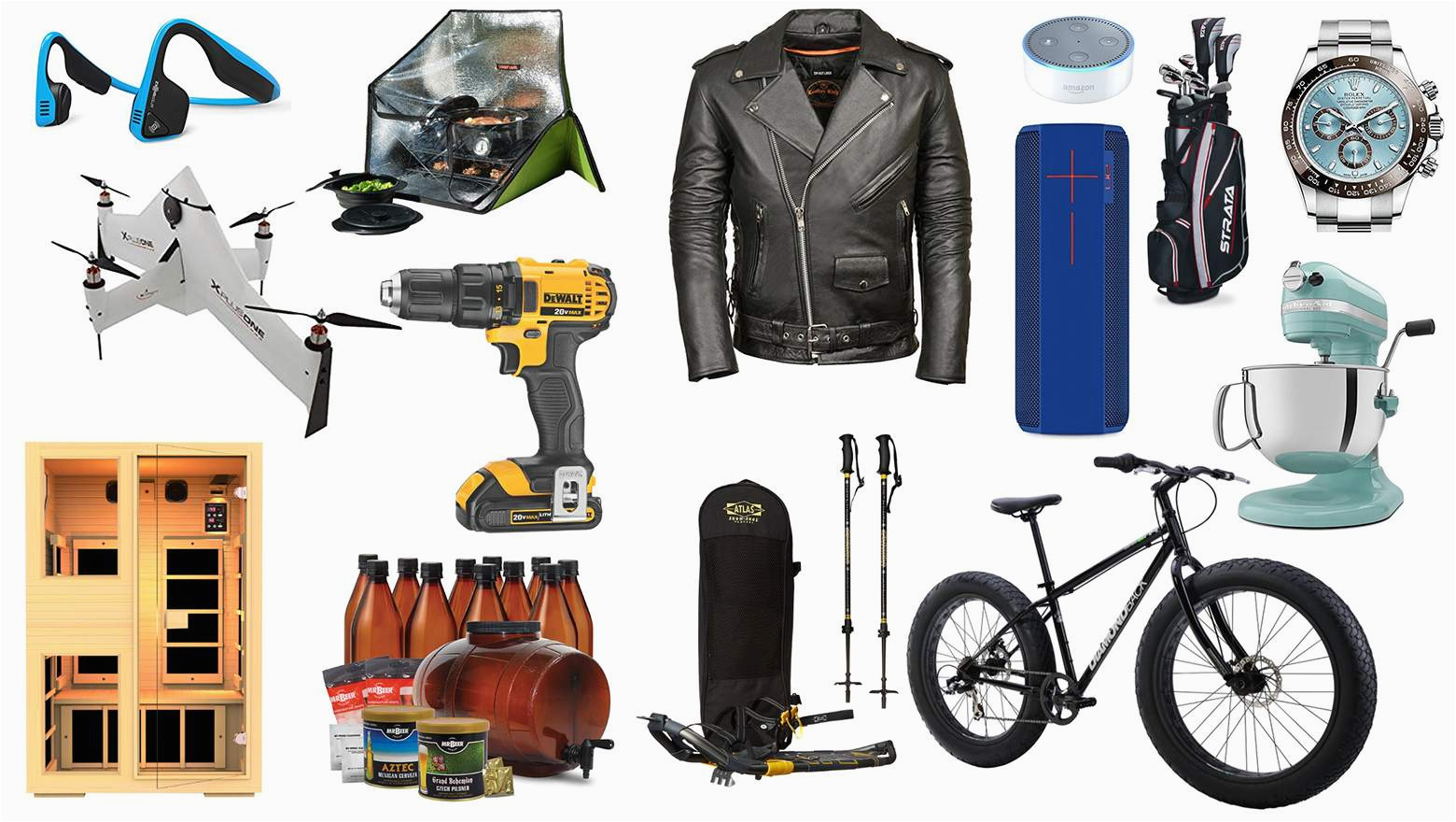 top best awesome christmas gifts unique gifts for him ideas sports outdoor games cooking menswear tech tools toys