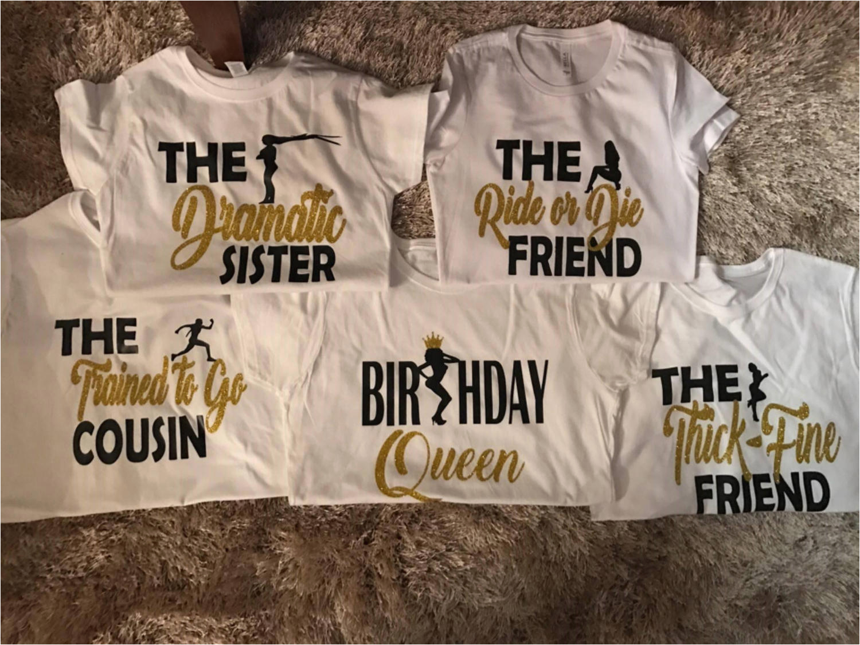 birthday squad shirts birthday girl