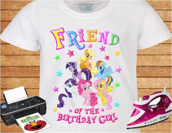 my little pony friend of the birthday
