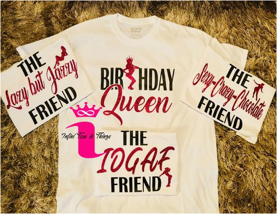 birthday girl shirts birthday squad
