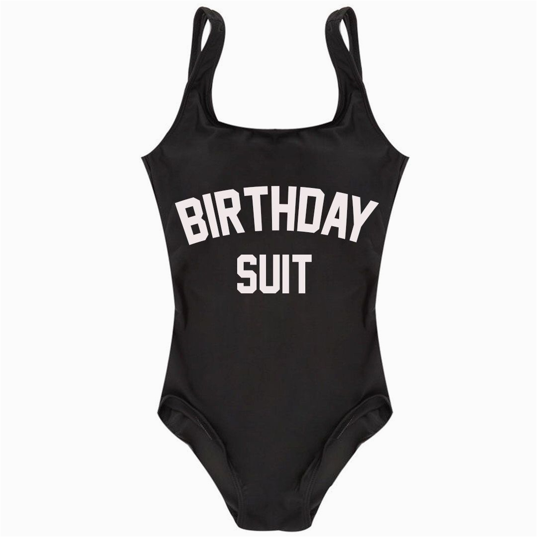 Birthday Girl Bathing Suit Birthday Suit One Piece Swimsuit Life 39 S A Beach