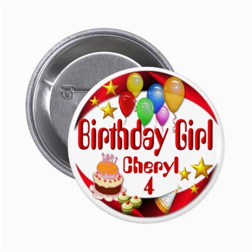birthday girl button 3 button 145997537727144768