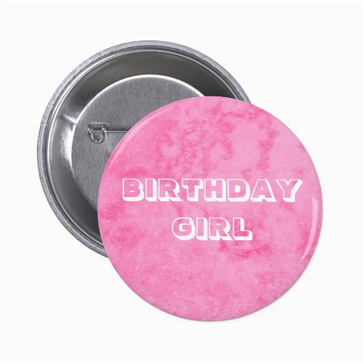 birthday girl button 145087363375947804