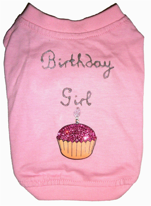 birthday girl dog t shirt