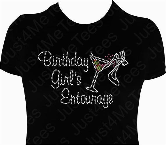 birthday girls entourage shirt birthday