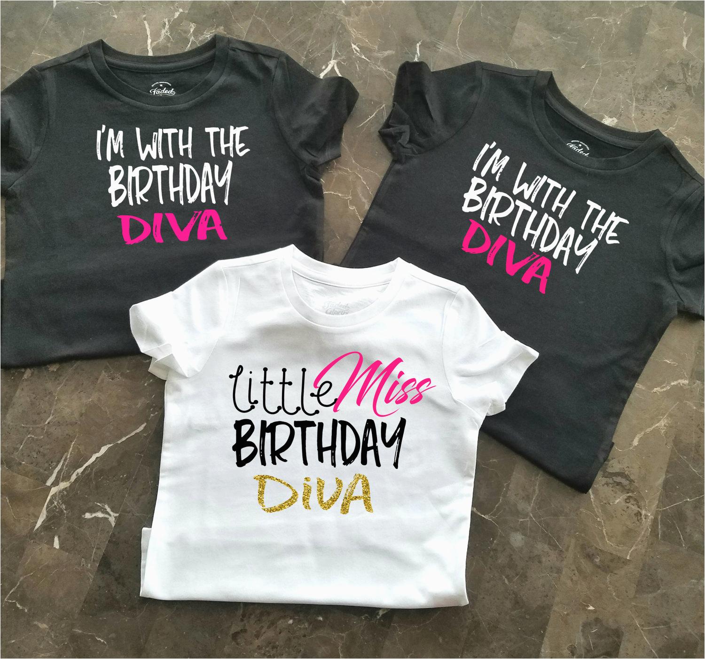 birthday party shirts girls birthday