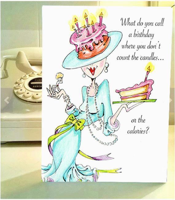 funny birthday card funny women humor