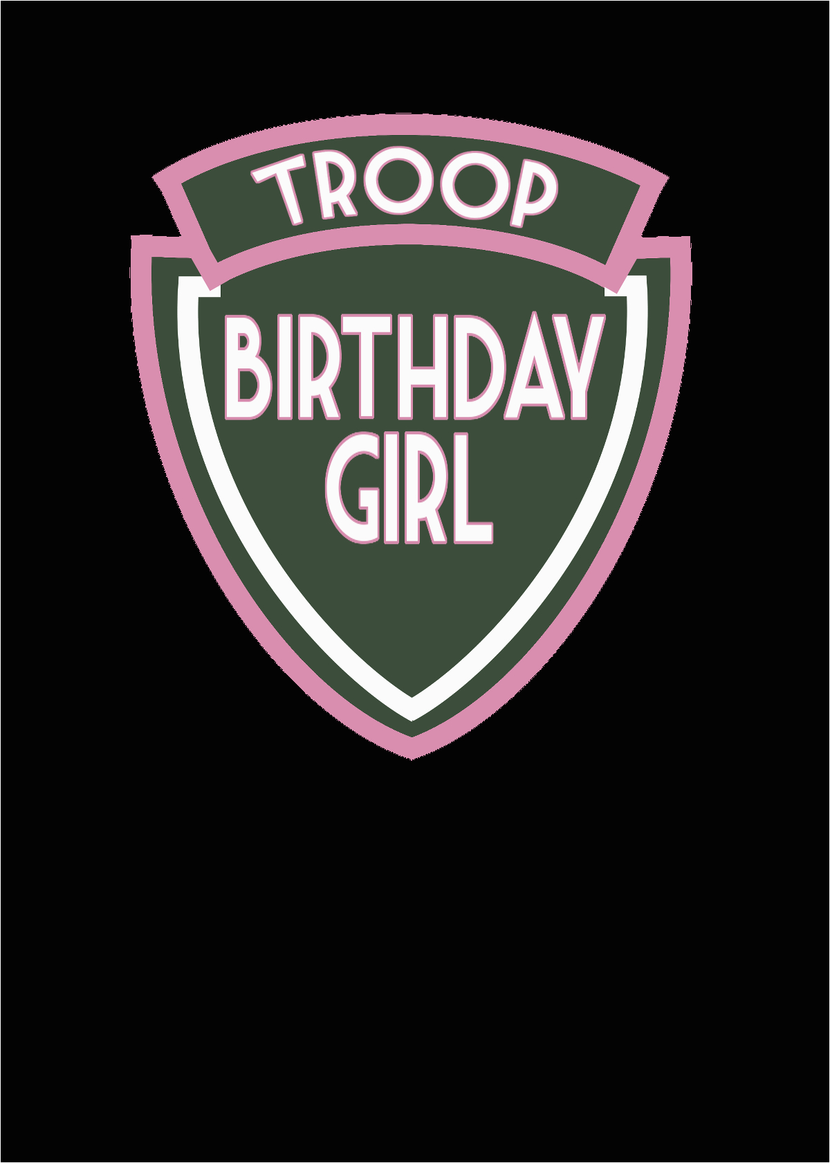 troop birthday girl summer camp party showcomment 1410920561760