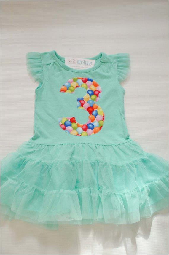 girls 3rd birthday dress tutu dress 3t