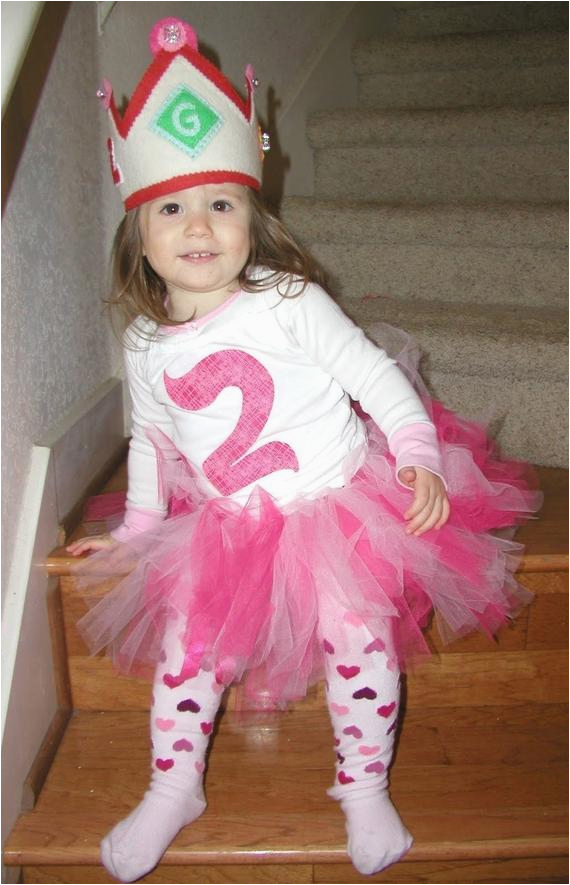 pink 2nd second birthday tutu outfit