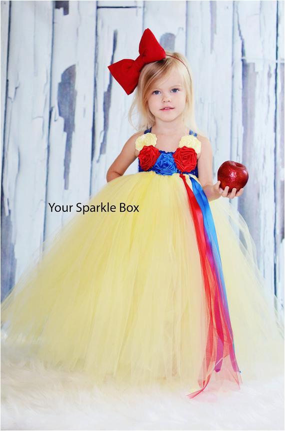 snow white tutu dress halloween pageant
