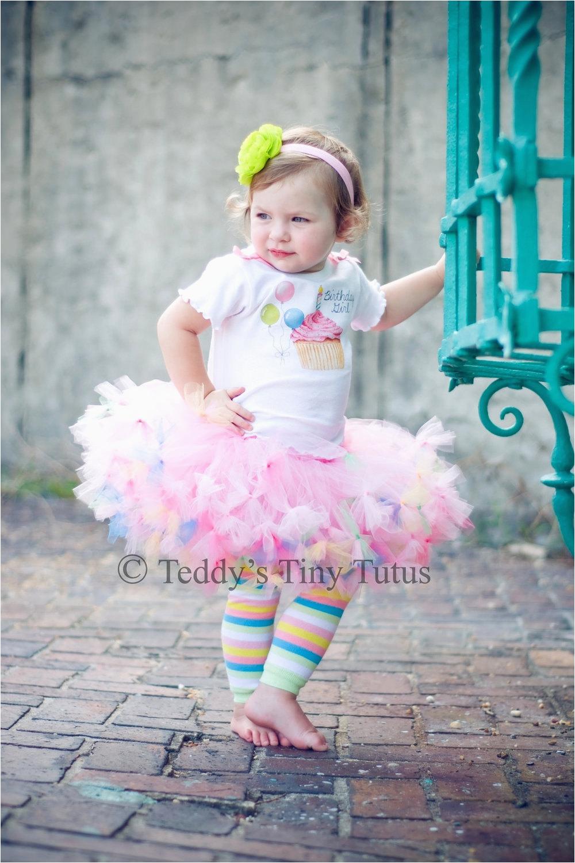 birthday tutu set toddler birthday girl