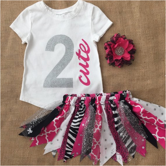 girls 2 cute birthday outfit girls 2nd