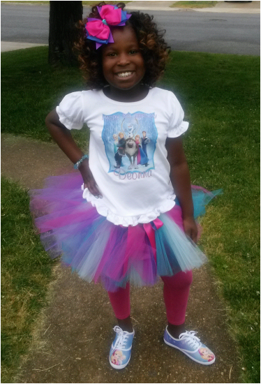 frozen characters birthday girls tutu outfit