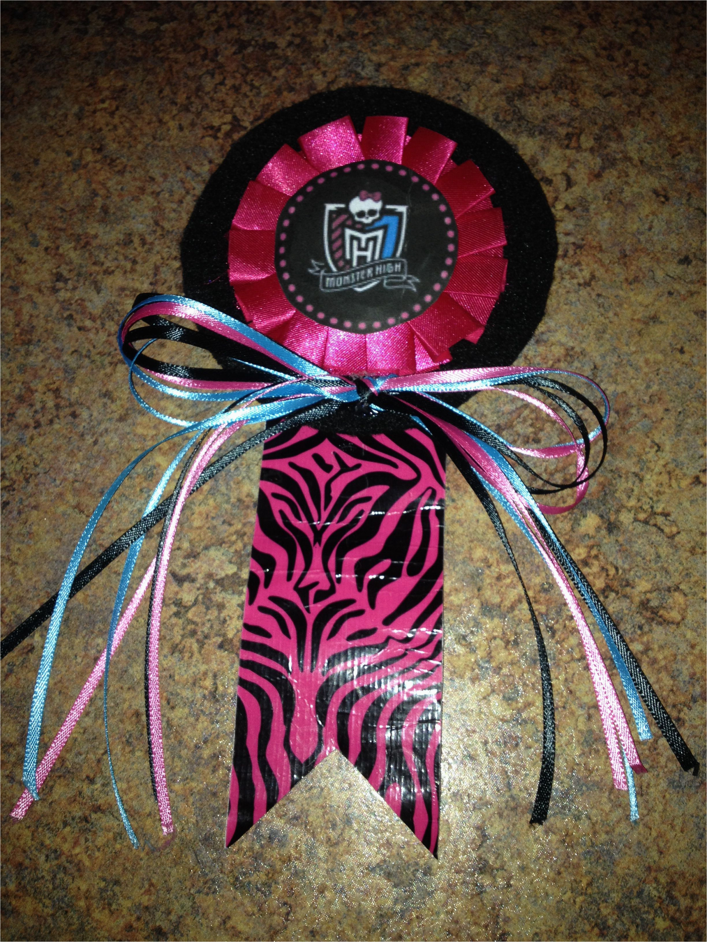 Birthday Girl Pin Dollar Tree Monster High Pin Made for My Special Birthday Girl Bought