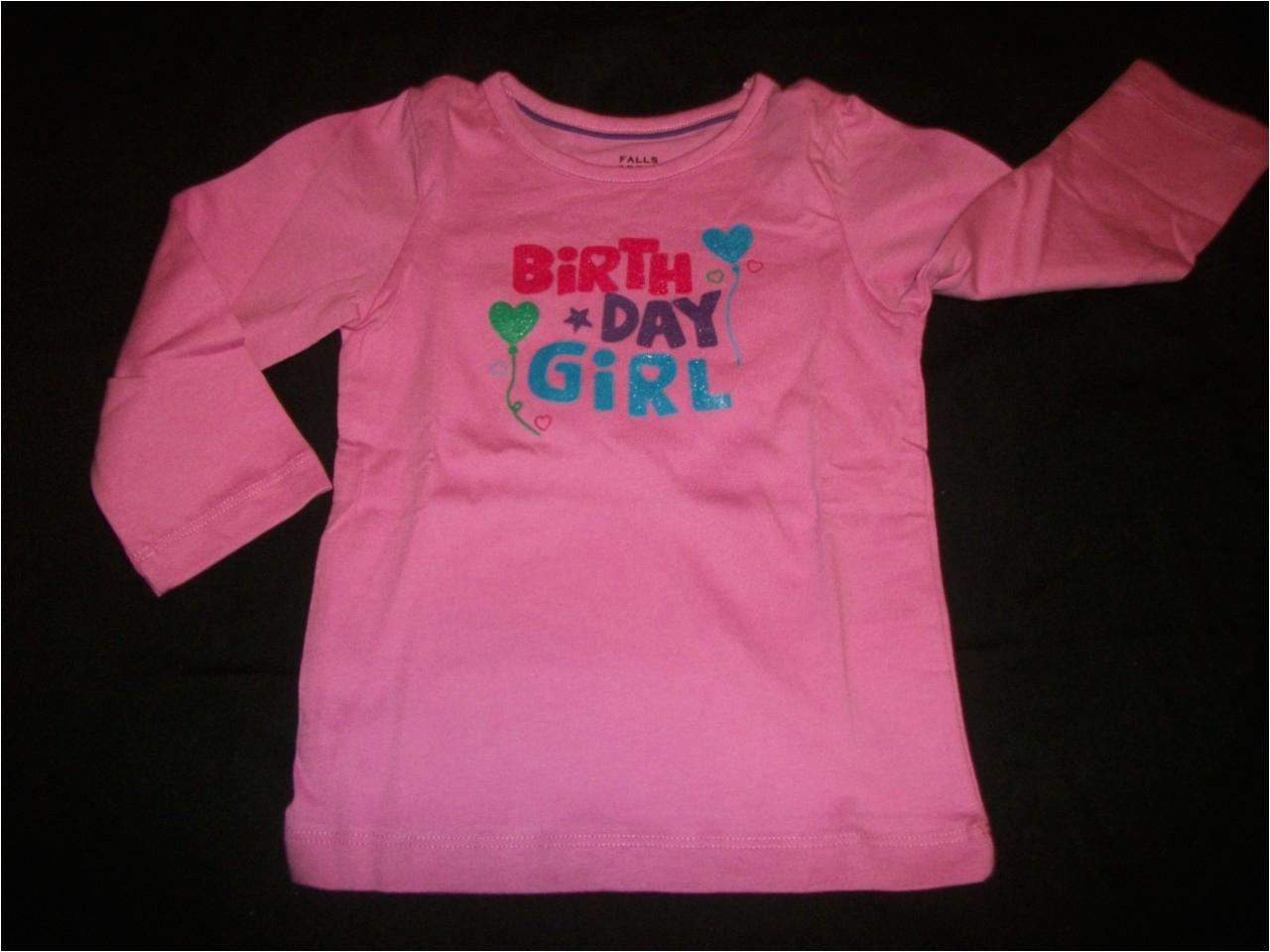 Birthday Girl Shirt 4t New Girls Size 3t 4t 5t Birthday Girl Shirt Ebay