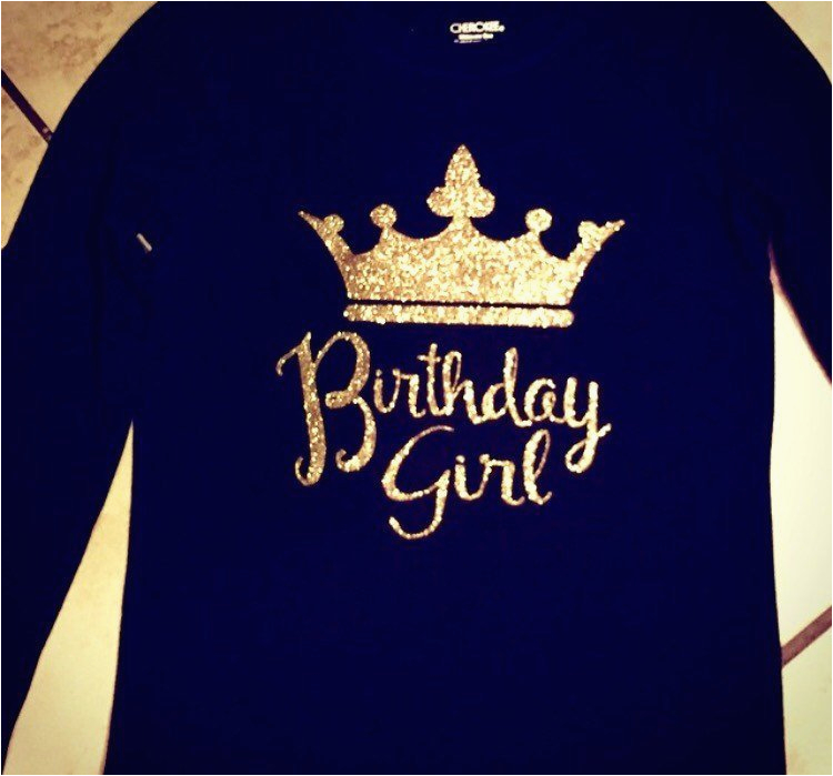 adult birthday girl shirt kara