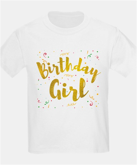 birthday girl kids t shirts
