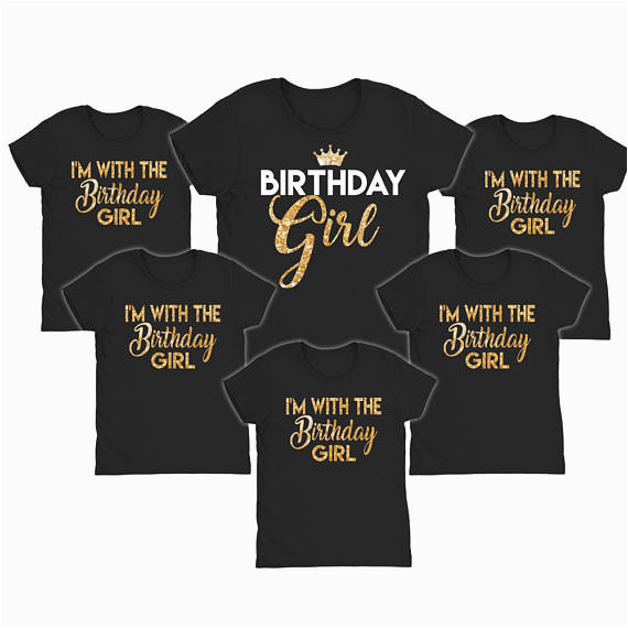 birthday girl shirts im with the