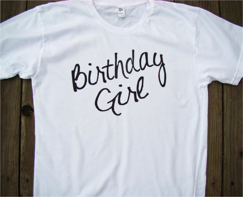 birthday girl shirt tops and tees adult