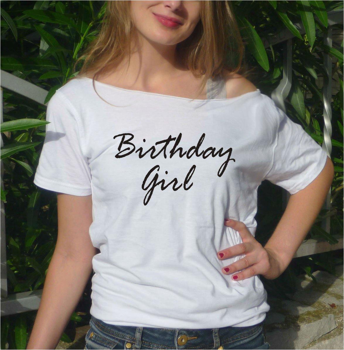 birthday girl t shirt birthday tee gift