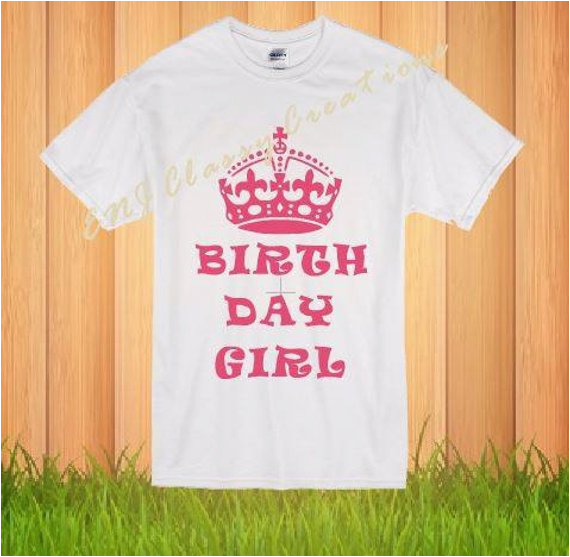 adult birthday girl shirt